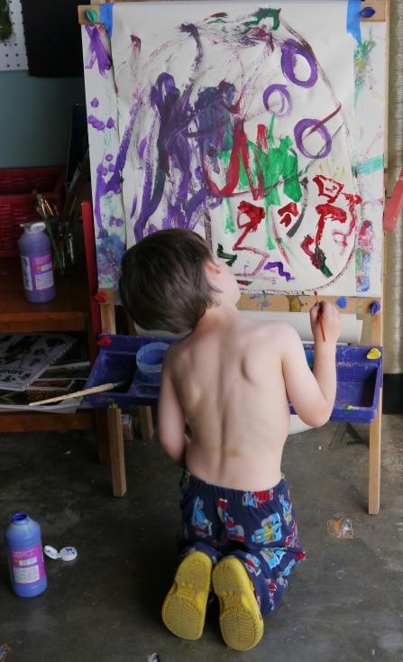 Levi painting, 2013