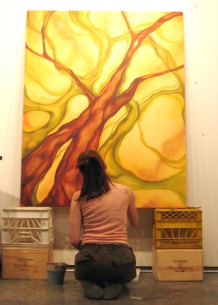 Dara painting, 2005